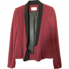 Veste smocking Sandro bordeaux T36