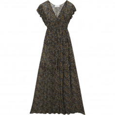 Robe Bash Samanta gris/ Marron T1