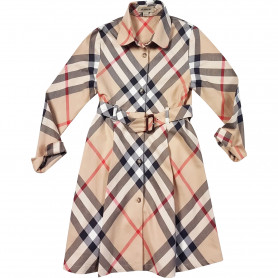 Robe chemise Burberry 10 ans