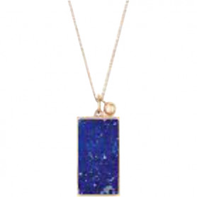 Collier Ginette NY ever lapis-lazuli or rose